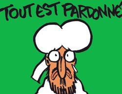 """Charlie Hebdo dibuja a Mahoma en su primera portada tras el ataque terrorista: """"Todo está perdonado"""""""