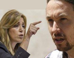 """Pablo Iglesias tras """"ser vetado"""" en Canal Sur por Susana Díaz: ¿Cuál es la diferencia entre esta televisión y la de Rajoy?"""