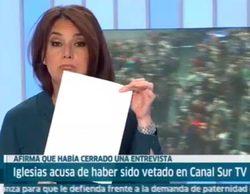 """Canal Sur desmiente a Pablo Iglesias: """"Llevamos ocho meses pidiendo una entrevista, alguien debería pedirnos perdón"""""""