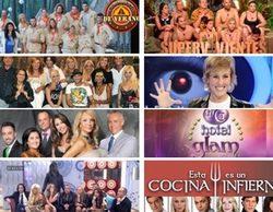 Telecinco, reina de los realities. ¿Cuántos ha emitido a lo largo de su historia?