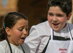 Lluc y Teresa vuelven a las cocinas de 'MasterChef Junior 2'