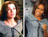 Michelle Obama se viste como Alicia Florrick en el Debate del Estado de la Unión