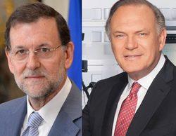 """Pedro Piqueras entrevista a Rajoy en 'Informativos Telecinco': """"¿Conocía la existencia de la contabilidad B desde el principio?"""""""