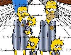 'Los Simpson' se convierten en prisioneros de Auschwitz con motivo del 70 aniversario del Holocausto