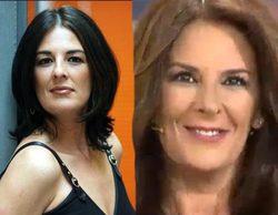 Ángela Portero presenta su nuevo rostro en el plató de 'Sálvame Deluxe'