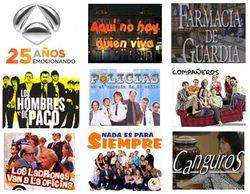 Antena 3 cumple 25 años: recordamos 25 series que han marcado su historia (parte 1)