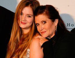 La hija de Carrie Fisher, Billie Lourd, debutará como actriz en 'Scream Queens'