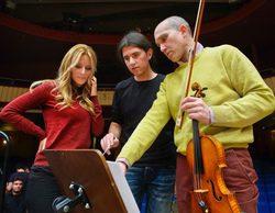 """Edurne graba """"Amanecer"""" con la Orquesta de RTVE: """"Es muy emocionante, tengo ganas de gritar"""""""