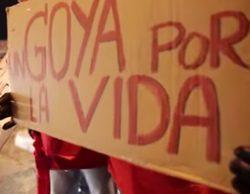 Lo que no se vio en la gala de Los Goya 2015 en TVE: la protesta de los enfermos de Hepatitis C