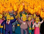 Cerca de 2.000 bolivianos se manfiestan por un cambio de horario de 'Los Simpson'