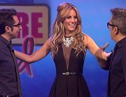 """Edurne ironiza en 'En el aire': """"Chiquilicuatre dejó el nivel muy alto en Eurovisión, pero estamos trabajando duro"""""""