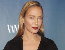 Uma Thurman luce nuevo rostro en la presentación de 'The Slap'