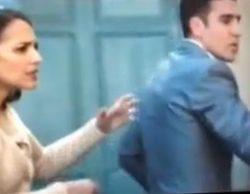 Miguel Ángel Silvestre da un puñetazo accidentalmente a Peter Vives durante el rodaje de 'Velvet'