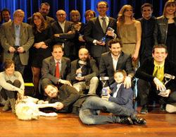 'MasterChef', 'El objetivo', Megan Montaner y Francesc Orella, galardonados con los Premios Zapping 2014