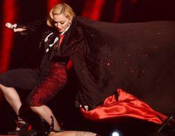 Los memes que recrearon la caída de Madonna en los 'BRIT Awards 2015'