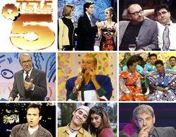 Telecinco cumple 25 años: recordamos 25 programas que han marcado su historia
