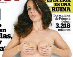 Vanessa Palomar, la mujer del polémico y famoso abogado Emilio Rodríguez Menéndez, se desnuda en Interviú
