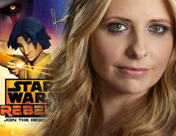 Sarah Michelle Geller se une a la segunda temporada de 'Star Wars Rebels'