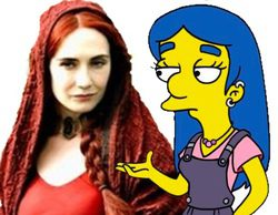 Carice van Houten (La Mujer Roja de 'Juego de Tronos') aparecerá en 'Los Simpson'