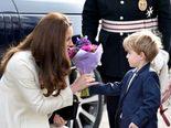 Kate Middleton, Duquesa de Cambridge, visita el set de 'Downton Abbey'