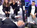 Alberto Isla recrea en 'Sálvame deluxe' como golpeaba a Sema, amigo de Chabelita, la cabeza con su miembro