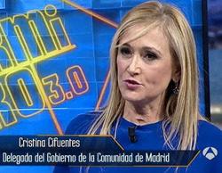 La productora de 'El Hormiguero' desmiente que Cristina Cifuentes asistiera al programa acompañada de policías