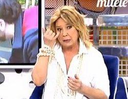 Mila Ximénez vuelve a 'Sálvame Deluxe' y pide perdón a Belén Esteban tras su operación