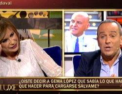 Un 'Sálvame deluxe' (17,5%) a la baja, sin Belén Esteban, lidera contra un José Mota (12,2%) que resiste
