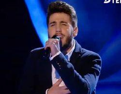 Eliminada la aspirante ciega de 'La Voz', Marina Rojas, y Antonio José ('Eurovisión Junior 2005') se queda