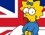 """Maggie Simpson """"gana"""" las elecciones de Reino Unido"""
