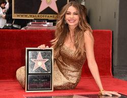 Sofía Vergara ('Modern Family') consigue su estrella en el Paseo de la Fama de Hollywood