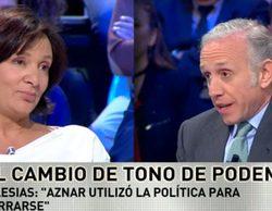"""Eduardo Inda arremete contra Podemos: """"Cuando Pablo habla de gentuza que roba estoy de acuerdo, él es el primer ladrón"""""""