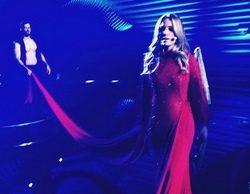 Primera imagen del vestido de Edurne en Eurovisión 2015