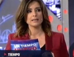 'Un tiempo nuevo' (7,5%) se hunde en Telecinco con el cara a cara de Cifuentes y Gabilondo