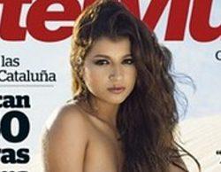 Aguasantas Vilches, finalista de 'GH VIP 3', se vuelve a desnudar en la revista Interviú