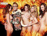 """Las """"supervivientes"""" Vivi Figueredo, Begoña Alonso, Nani Gaitán y Malena Gracia, desnudas para Primera Línea"""