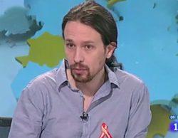 """Pablo Iglesias se enfrenta a una polémica y breve entrevista en 'Los desayunos de TVE': """"Sólo me habéis dado tres minutos"""""""