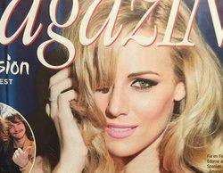 """Edurne copa las portadas de la prensa austriaca: """"La doble de Shakira nos embelesa con una canción mística y sexy"""""""