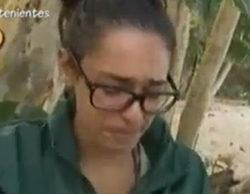 """Lucía se derrumba en 'Supervivientes': """"No tenemos comida, no tenemos cama, no tenemos nada"""""""