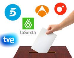 Elecciones 24-M: así será la cobertura informativa de TVE, Cuatro, Telecinco, Antena 3 y laSexta