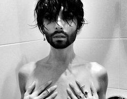 Después de presentar Eurovisión 2015, Conchita Wurst se desnuda en la ducha