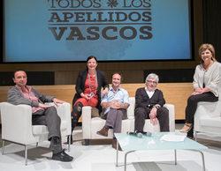 ETB2 indagará en los orígenes de los rostros conocidos del País Vasco en 'Todos los apellidos vascos'