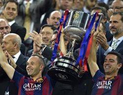 La final de la Copa del Rey (41,1%) es la menos vista desde 2007 y pierde casi 5 millones de espectadores