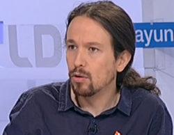 """Pablo Iglesias visita 'Los desayunos': """"A los ciudadanos las cuentas que les preocupan son las de Suiza, no las de Twitter"""""""