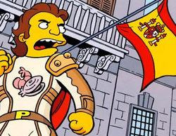 Paella Man, el nuevo personaje de 'Los Simpson', un nuevo superhéroe español defensor de la cultura patria