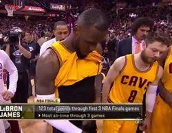 El pene de Lebron James se cuela en ABC durante las finales de la NBA