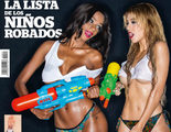 Oriana y Liz, juntas, desnudas y mojadas en la nueva portada de Interviú