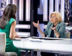 """Ana Pastor somete a Manuela Carmena a una entrevista """"fuera de tiempo"""""""