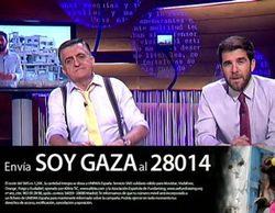 Los espectadores de 'El intermedio' mandan más de 70.000 SMS durante su emisión para ayudar a recostruir Gaza