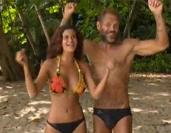 Lola y Nacho Vidal se duchan juntos tras ganar una prueba de recompensa